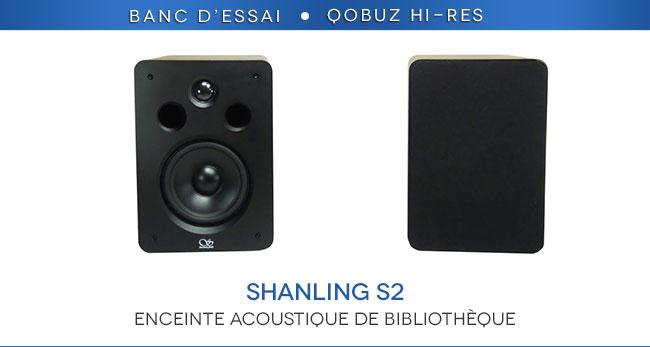enceintes shanling s2 une petite enceinte pas tr s ch re tr s s rieusement construite et. Black Bedroom Furniture Sets. Home Design Ideas