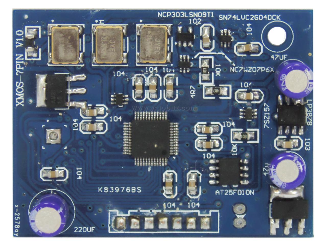 Audiophonics DAC PCM1794 XMOS: Qobuzism for this elegantly designed