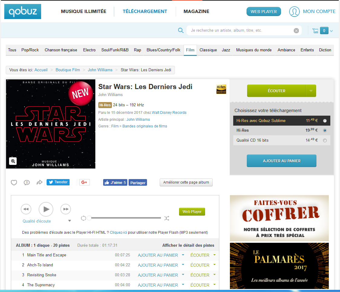 How to buy and download albums on Qobuz: a practical guide