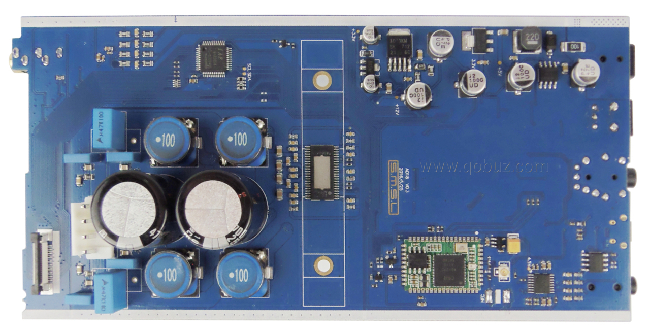 S M S L AD18: Qobuzism for this digital amplifier with DAC!