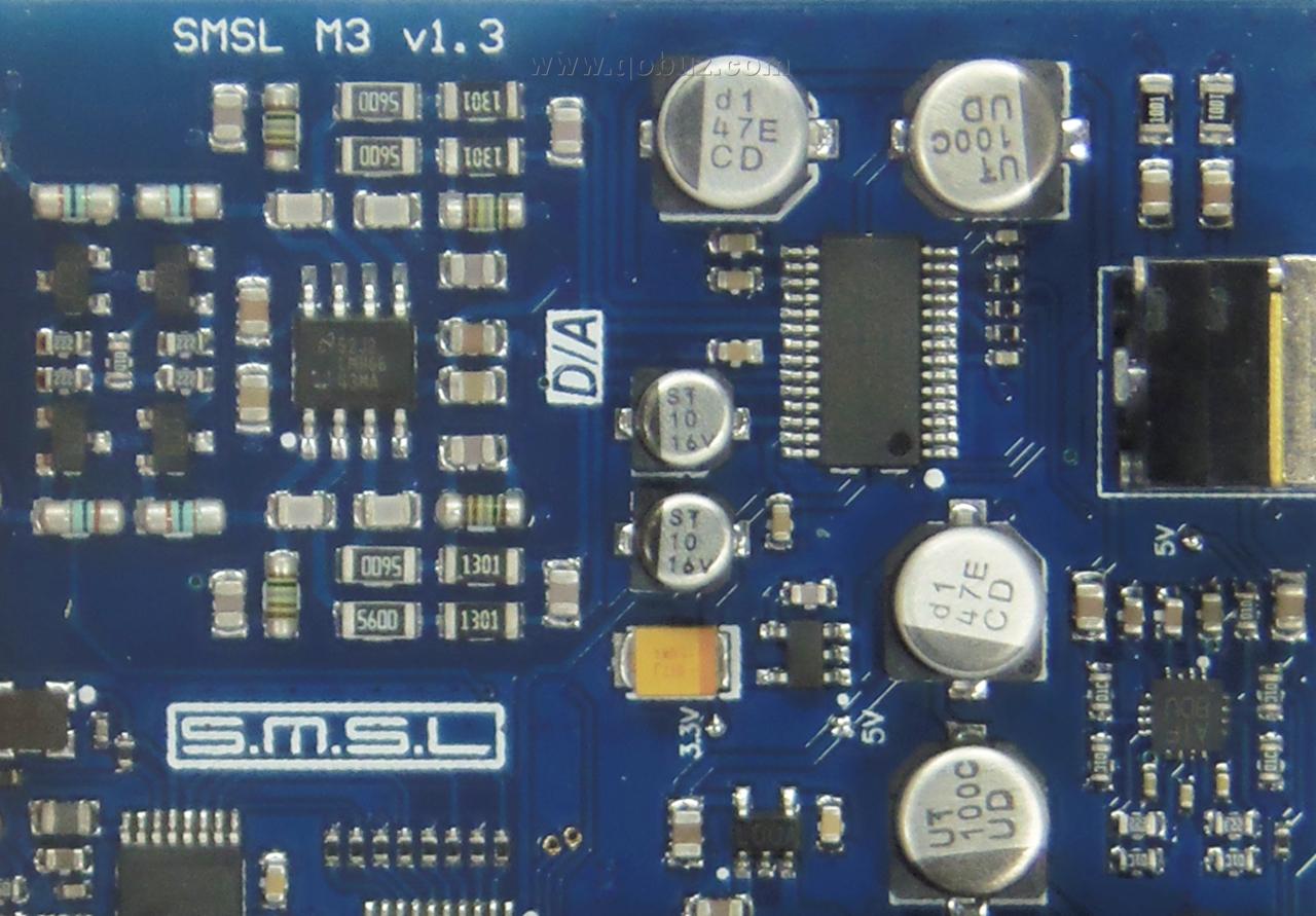 S M S L M3 : un petit DAC musical, à écouter à la maison ou