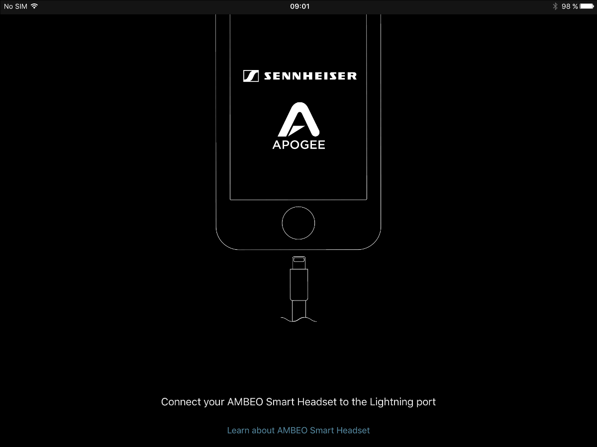 Sennheiser Ambeo Smart Headset: record and listen to the