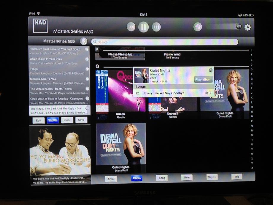 application sonos et apple music