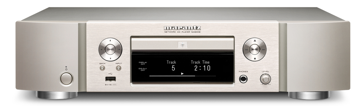 Marantz ND8006, the exclusive testing ground: a superb