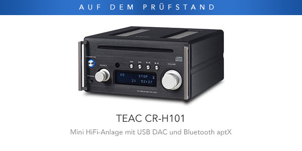 teac cr h101 eine mini hifi anlage f r einen maximalen. Black Bedroom Furniture Sets. Home Design Ideas