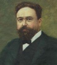 Portrait d'Isaac Albéniz